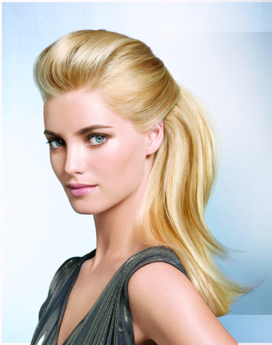 Причёски с начёсом на средние волосы с чёлкой фото