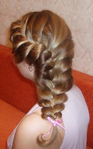 Красивая прическа своими руками для длинных волос