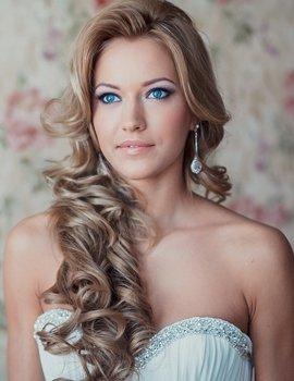 Свадебные прически 2012 45 вариантов