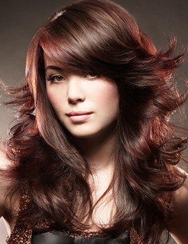 Стрижки для густых волос фото