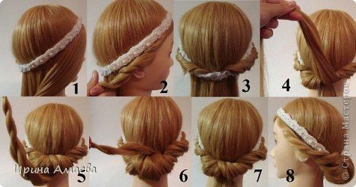 Греческая прически на средние волосы своими руками