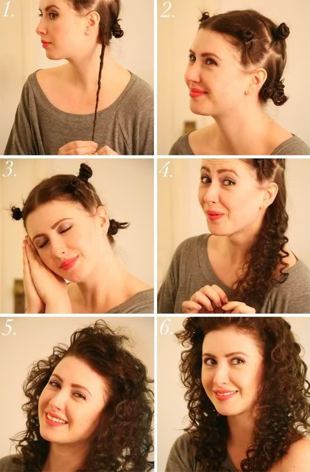 Как можно сделать себе кудряшки на волосах 419