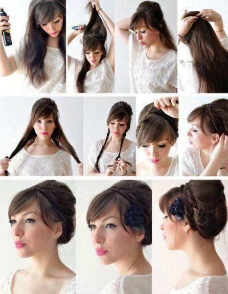 Игры причёски своими руками фото