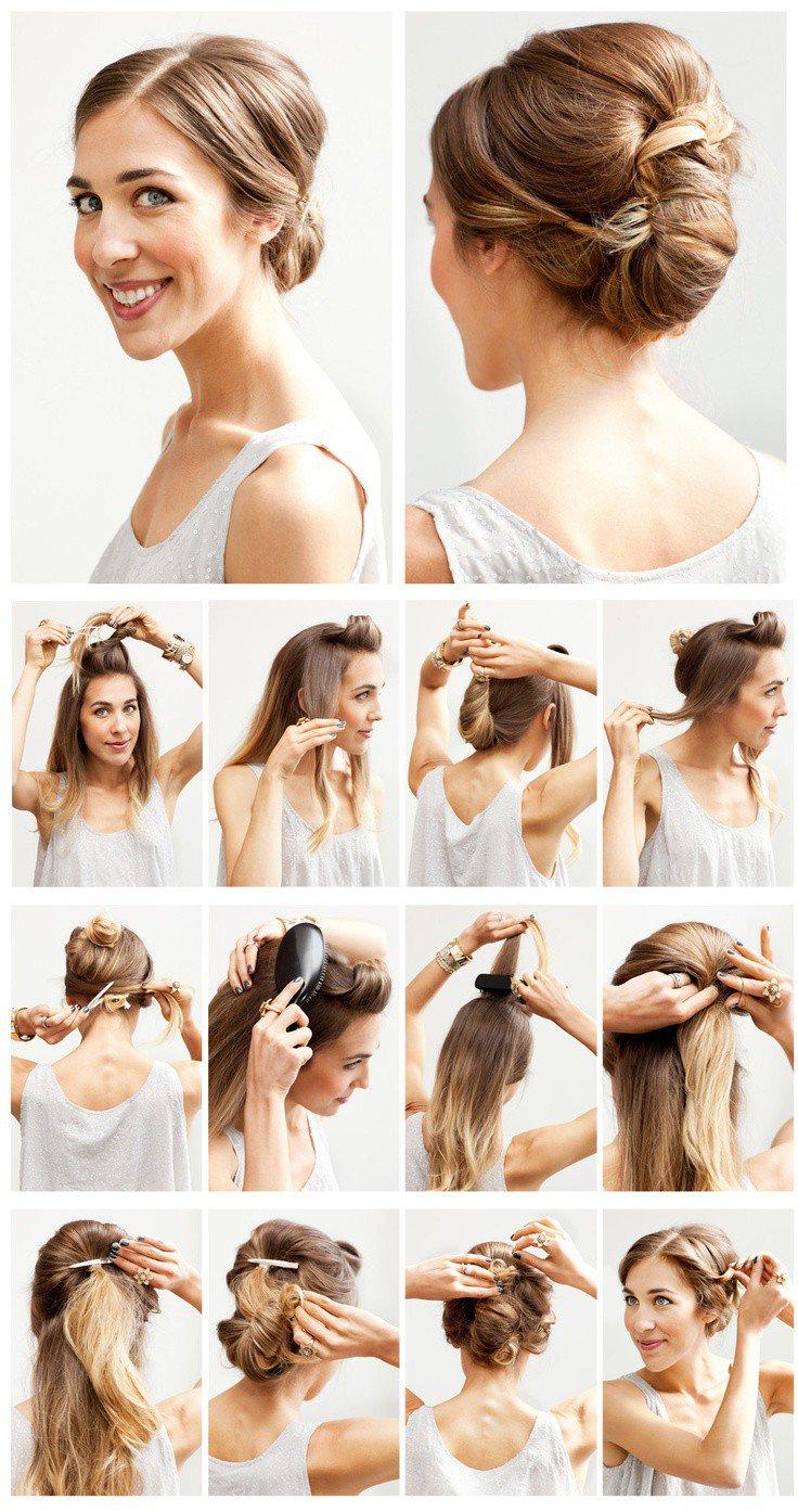 Причёски на средние короткие волосы
