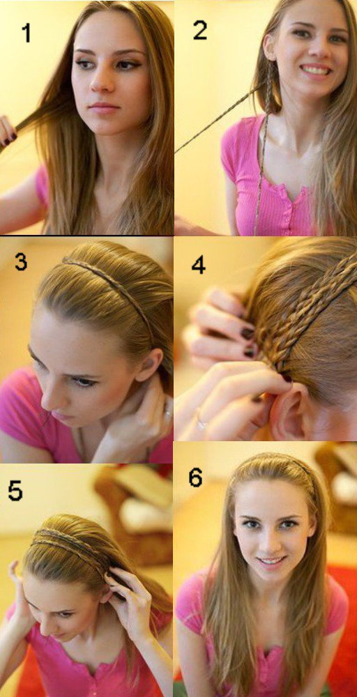 Легкие прически на тонкие длинные волосы