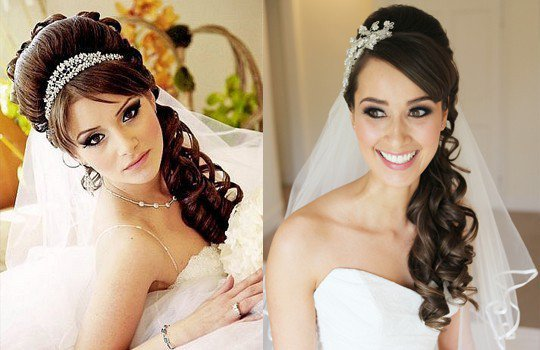 Прически для свадьбы на длинные волосы с фото8