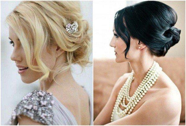 Причёски на свадьбу для подружек невесты