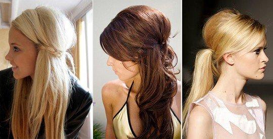 Кудри на первое сентября на длинные волосы