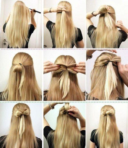 Причёски с распущенными волосами на 1 сентября