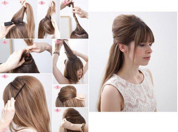 Причёска с короткими волосами на 1 сентября
