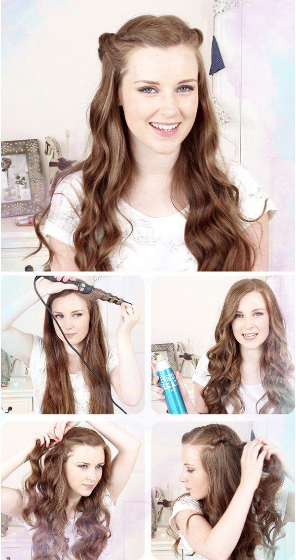 Самые актуальные варианты причёсок для школьниц на первое сентября. Фото №2