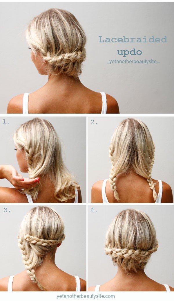 Как сделать причёску на средние волосы