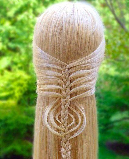 Плетение эльфийских кос