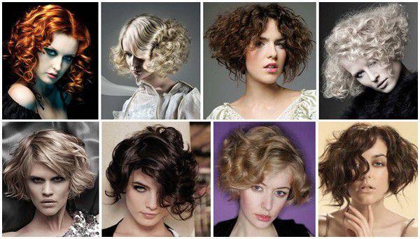 Стрижки и укладки на вьющиеся волосы