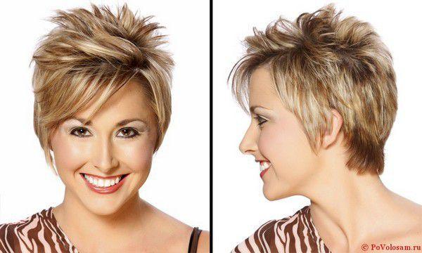 Стрижки с на короткие волосы