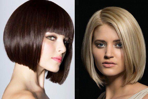 Прически для коротких каре волос