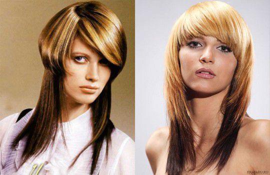 Стильные стрижки на длинные волосы 2017 фото женские