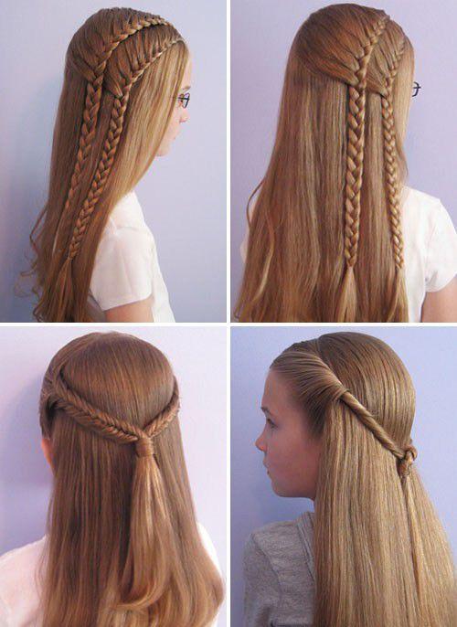 Какую причёску сделать девушке на 1 сентября