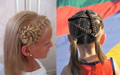 Детские причёски на концерт