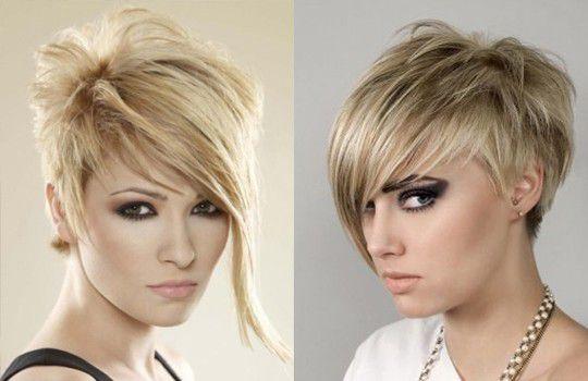 Короткая стрижка на жидкие волосы
