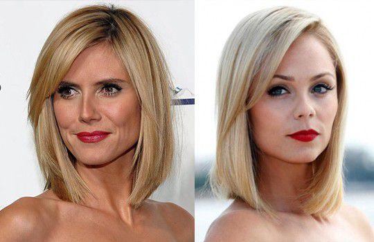 Каре на тонкие волосы с челкой фото до и после стрижки