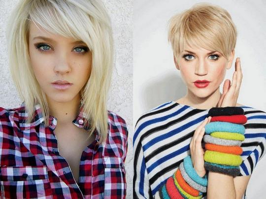 Фото стрижек для тонких волос для девочек
