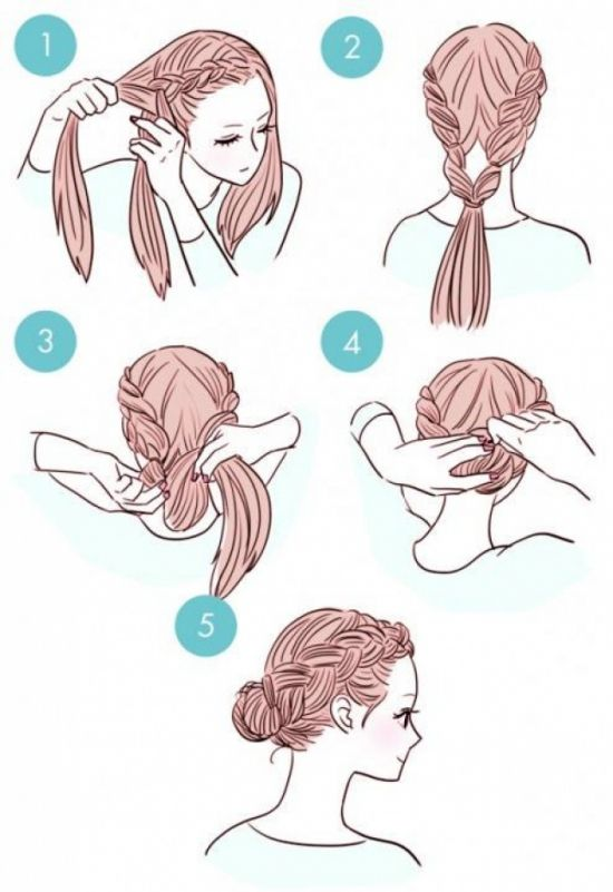 Как сделать быструю и красивую причёску