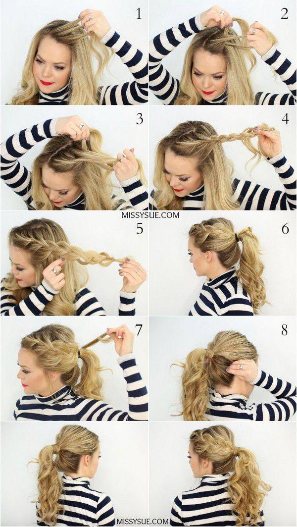 Самые актуальные варианты причёсок для школьниц на первое сентября. Фото №7