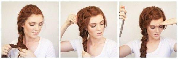 Самые актуальные варианты причёсок для школьниц на первое сентября. Фото №9