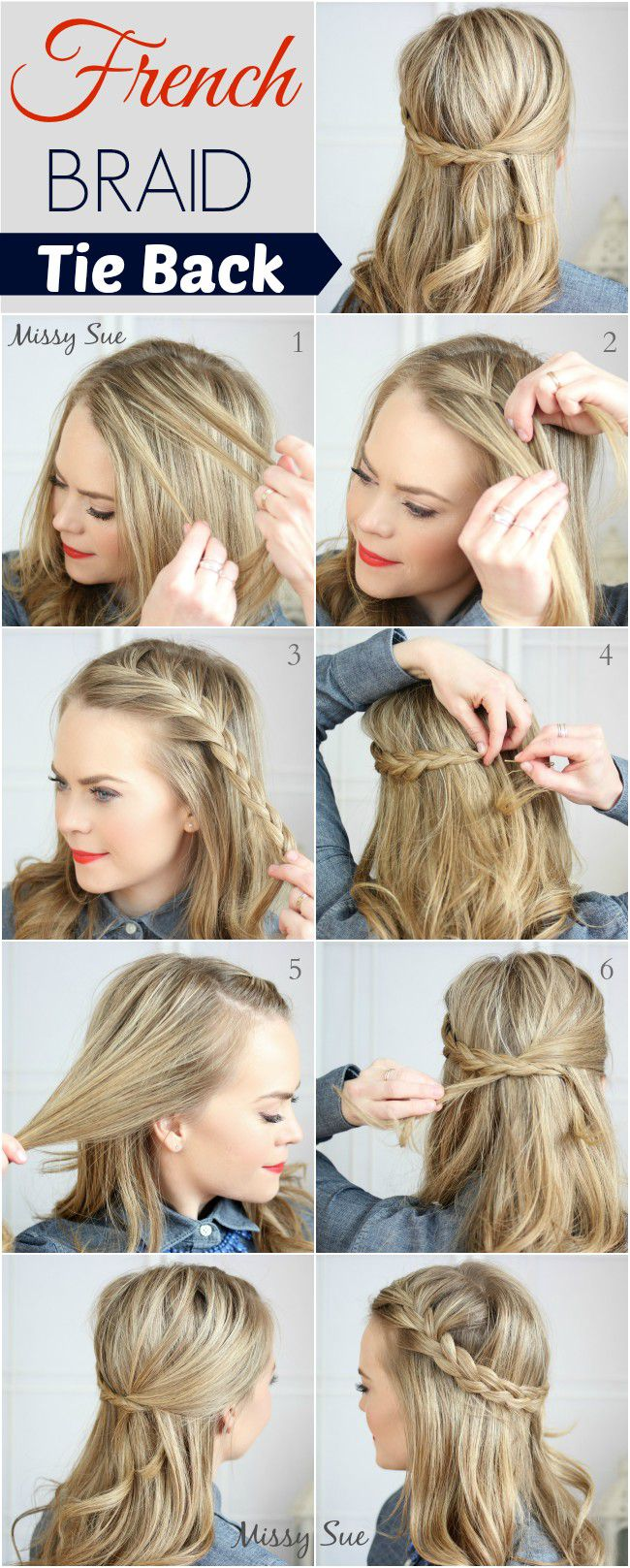 Какую прическу можно сделать на распущенные волосы самой себе
