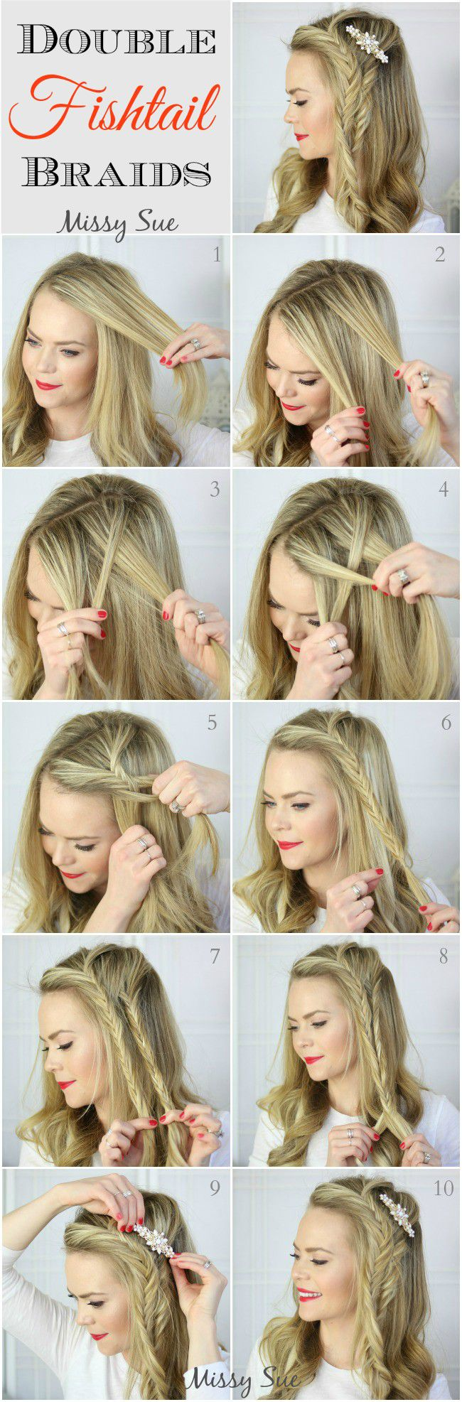 Красивые лёгкие причёски на длинные волосы фото поэтапно своими руками фото 874