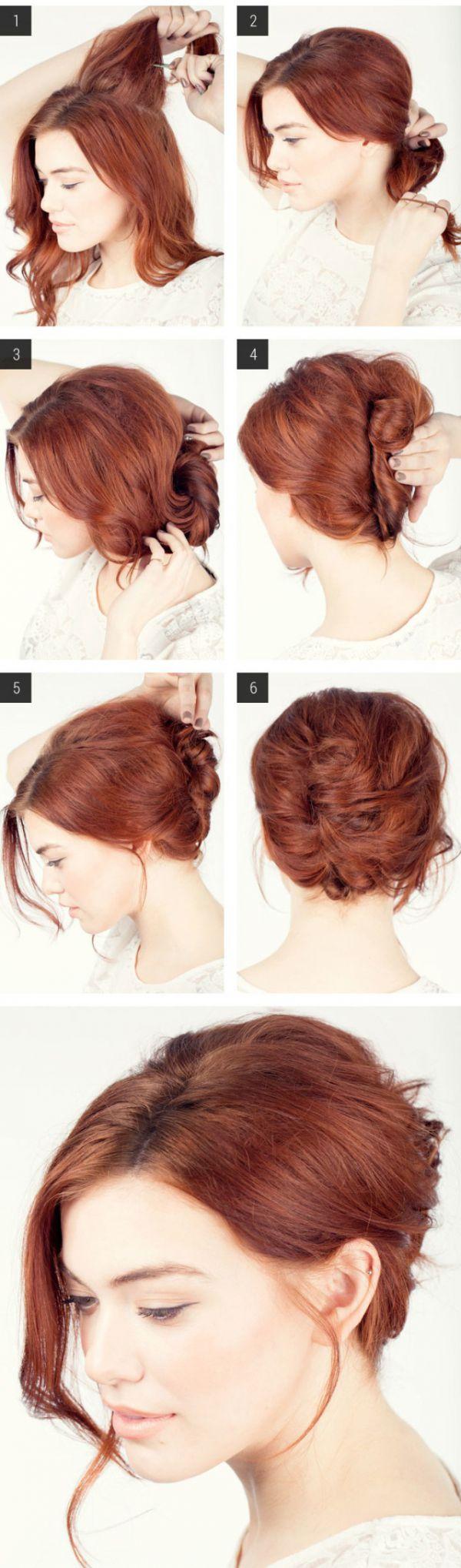 Как самой сделать прическу для волос средней длины