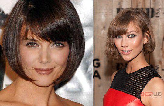 Стрижки для тонких волос для крупного лица