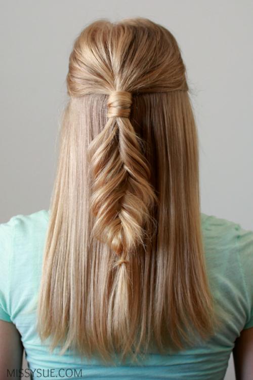 Прически распущенные волосы своими руками