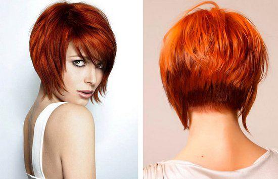 Креативные стрижки на прямые волосы