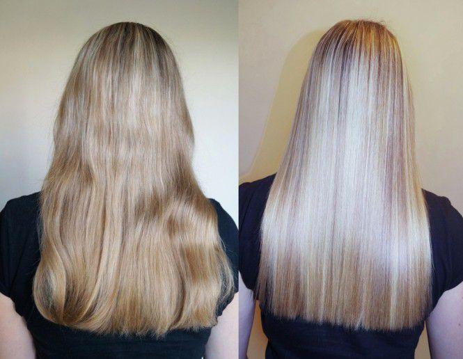 Сколько длится кератиновое выпрямление волос по времени