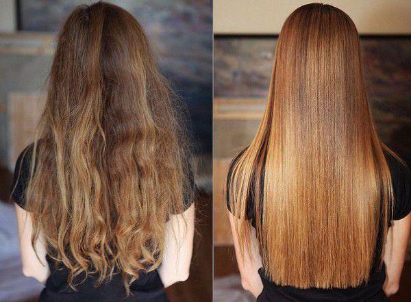 Кератиновое выпрямление нарощенных волос отзывы
