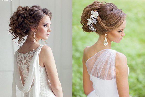Свадебные прически на длинные волосы в греческом стиле фото