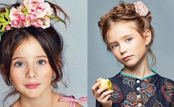 Прически разные детские
