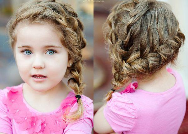 Детская прическа в греческом стиле фото