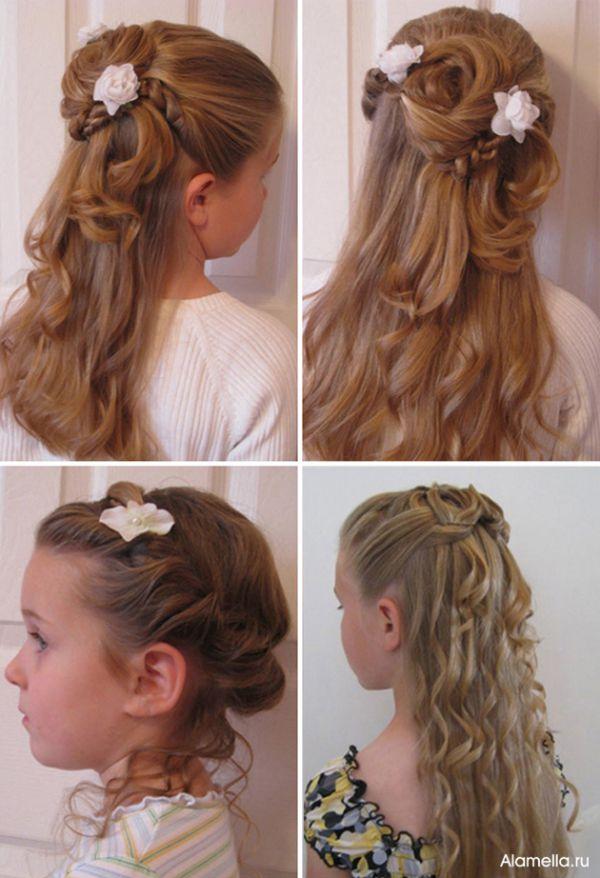 Корона для волос прически детские