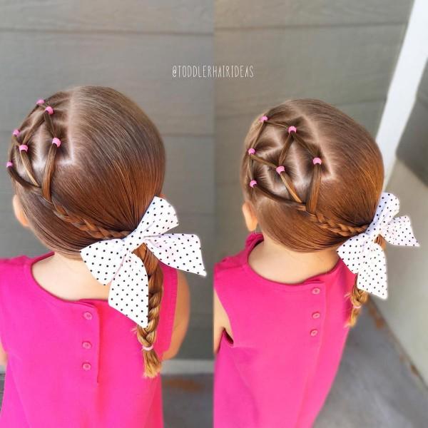Фото детских причёсок для девочек на короткие волосы