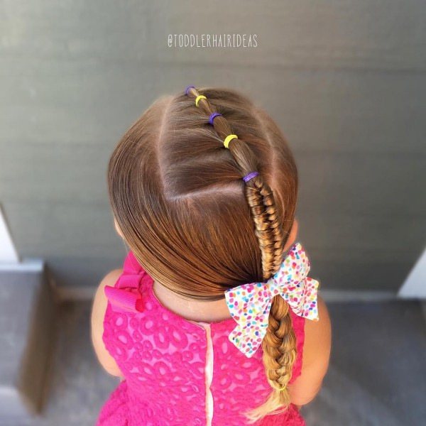 Прически для детского сада на каждый день фото