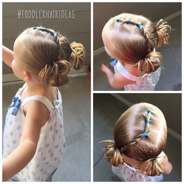 Как сделать прическу девочке с короткими волосами 818