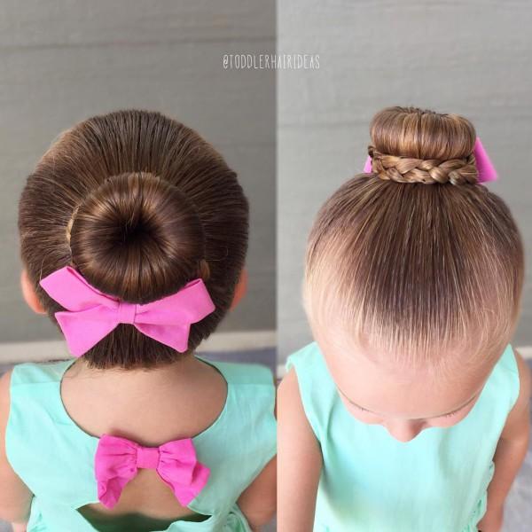Праздничные прически для девочки из кос