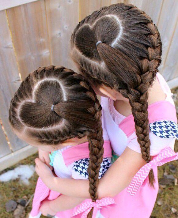 Причёски косички для школы