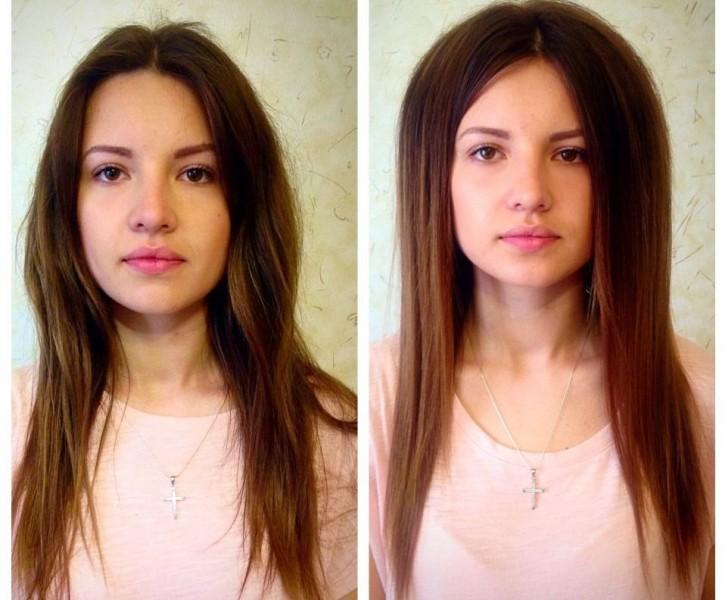 буст ап фото на короткие волосы