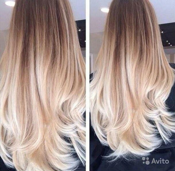 Русый цвет волос с мелированием фото