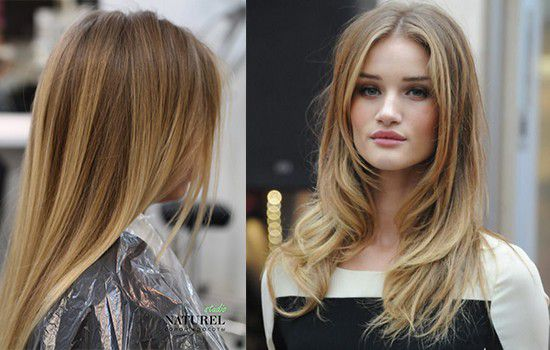 Длинные светлые волосы по-английски