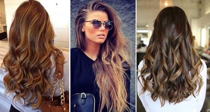 Двухцветное окрашивание волос фото темные